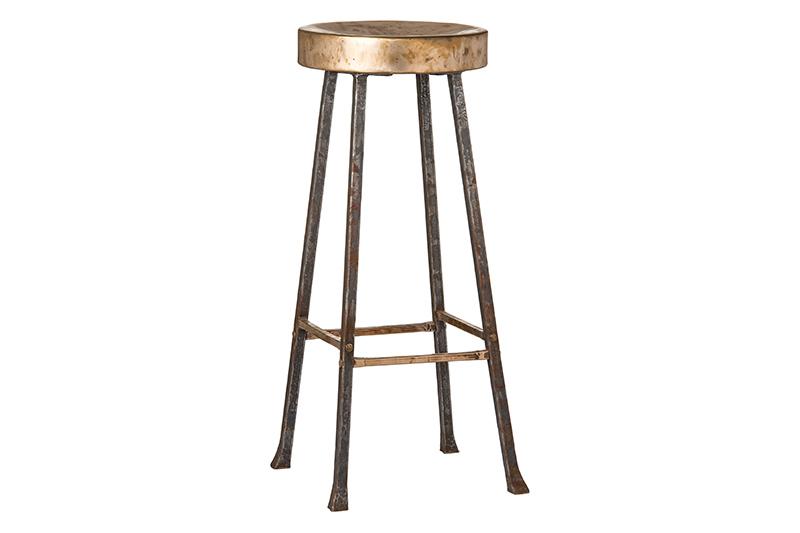 Swell Bronze Metal Bar Stools Handmade Bronze Bar Stools Machost Co Dining Chair Design Ideas Machostcouk